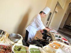 Omelette Station at Monarch Beach Resort Sunday Brunch