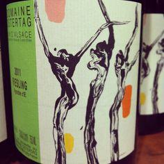 "#Riesling d'Alsace ""Vignoble d'E"" 2011 Domaine Ostertag."