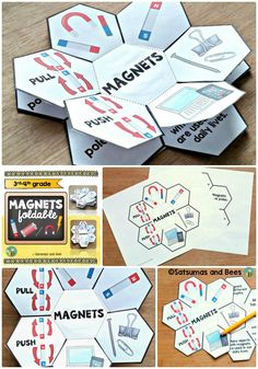 This foldable will introduce facts about magnets in a FUN way. Great for VISUAL learners! This resource may be used with students from 3rd- 5th grade. Whole group, small group or individual instruction.  This resource is adapted to address different learning styles and was tested with my 4th grade students.