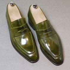 Septieme Largeur by Eva Hot Shoes, Men's Shoes, Shoe Boots, Formal Shoes, Casual Shoes, Gentleman Shoes, Mens Fashion Shoes, Men's Fashion, Green Shoes