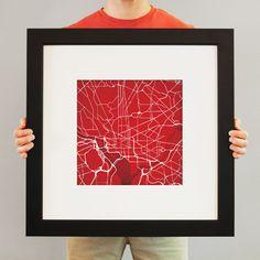 Washington, D.C. | City Prints Map Art