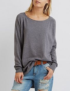 Sweaters: Poncho, Oversized & Cable Knit | Charlotte Russe