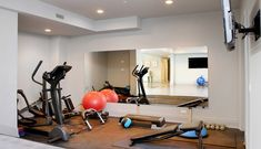 Best gym mirrors images in at home gym gym exercise rooms