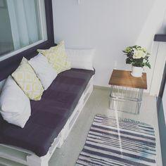 #Balcony #gabion #style #decor
