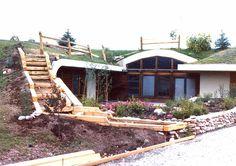 Earth sheltered homes. I really like this idea.