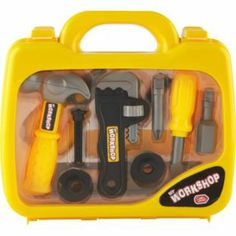 Buy Chad Valley Junior Tool Case at Argos.co.uk - Your Online Shop for Building role play, 2 for 15 pounds on Toys, Pre-school, Toys under 1...