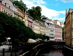 Kralovy Vary, Czech Republic. #Carlsbad #KarlovyVary #photography #spa #Czech