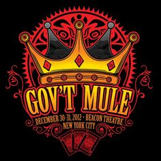 Gov't Mule [12-30-2012] Beacon Theater, New York, NY