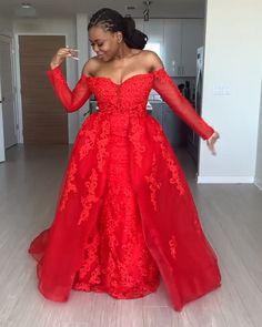May 2020 - Long Sleeve Lace prom dress,Long Prom Dress, Prom dress Long African Dresses, Latest African Fashion Dresses, African Traditional Dresses, Traditional Wedding Dresses, Kente Dress, African Wedding Attire, Prom Dresses Long With Sleeves, Dressy Dresses, Club Dresses
