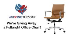 Win a Free Fulbright Office Chair in Brown vegan leather {US}... sweepstakes IFTTT reddit giveaways freebies contests