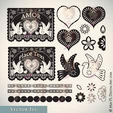 folk art border designs - Google Search