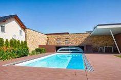 garage nachträglich überdachen – Google-Suche Sweet Home, Outdoor Decor, Pools, Garage, Home Decor, Ideas, Dolphins, Swiming Pool, Swimming