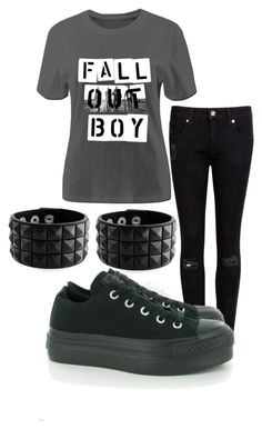 """untitled #76"" by killjoy-sam ❤ liked on Polyvore featuring Ted Baker and Converse"