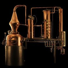 Prudence, the copper still used by Sipsmith of London to distill their fantastic gin and vodka, and an absolutely beautiful artifact in its own right.