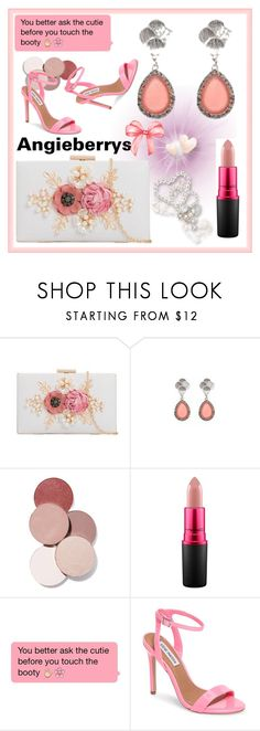 """""""ANGIEBERRYS #2"""" by nizaba-haskic ❤ liked on Polyvore featuring LunatiCK Cosmetic Labs, MAC Cosmetics and Steve Madden"""