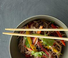 Cold Sesame Noodles http://www.epicurious.com/recipes/food/views/Cold-Sesame-Noodles-with-Summer-Vegetables-51104410