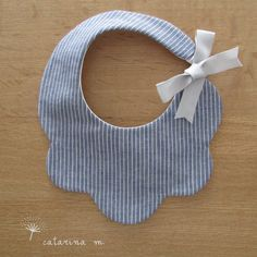 BABY BIB PATTERN Model n.1 Catarina M.