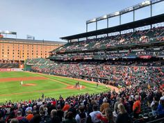 Enjoying a Fun Baltimore Weekend in 4 Steps Camden Yards, Mlb Stadiums, Baltimore Maryland, Travel Inspiration, Baseball, Park, World, Posts, Summer