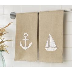French Knot Sea Towels