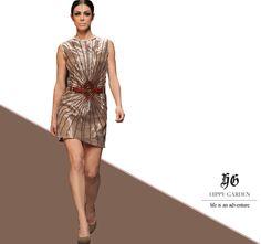 Hippy Garden Showroom Masarykova 5 www.hippygarden.net #fashion #brand #design #hippygarden #croatia #masarykova5 #dress #brown #beautiful