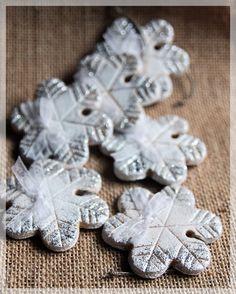 Salt Dough Snowflake Salt Dough, Snowflakes, Desserts, Christmas, Xmas, Tailgate Desserts, Deserts, Snow Flakes, Postres