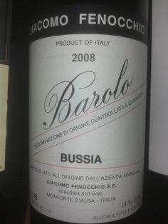 Barolo Bussia Fenocchio