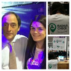 Representing Radiuscheck at Web Summit here with Paulo Portas - 5th of November 2015
