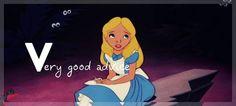 Disney Princesses alphabet