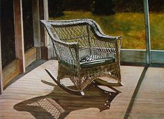 How to paint shadows - Painting and Artists Rocking Chair, Shadows, Abstract Art, Drawings, Painting, Artists, Furniture, Home Decor, Light And Shadow