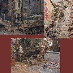 """1/35th """"Carentan""""  PART2 by Peter Granton From: michtoy  #scalemodel #diorama #hoby #modelismo #miniatura #miniature #maqueta #maquette #modelism #plastickits #usinadoskits #udk #plastimodelo #plasticmodel #modelisme"""
