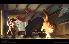 ArtStation - The Butcher Biff, Andy Ivanov Character Concept, Concept Art, Character Design, Character Illustration, Illustration Art, Illustrations, Rendering Techniques, Color Script, Behance
