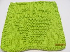 Hand Knit Dishcloth 100 Cotton Gift Idea Kitchen Dish by AMailys, $5.00