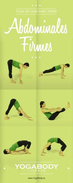 Yoga para mantener abdominales firmes