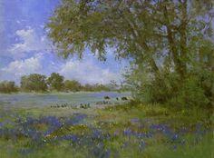 bluebonnet paintings - Google Search