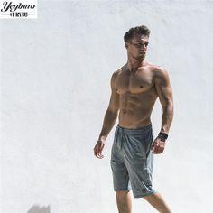 2017 New Fashion Casual Men's Shorts with Inside Pocket Summer Leisure Men's Trunks Comfort Homewear Fitness Workout Shorts Men