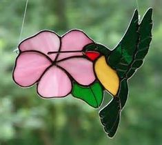 Dancing Hummingbird by theglassmenagerie on Etsy