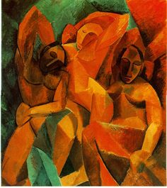 Pablo Picasso, Drie vrouwen, 1907-1908