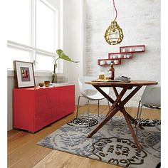 twist bistro table in view all furniture | CB2