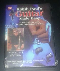 Ralph Pauls Guitar Made Easy Deluxe 5 DVD Set Just 5 Minutes a Day Be Pro Sealed
