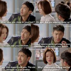 Such a cute moment ^-^ #Shewaspretty #kdrama #siwon