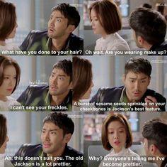 Such a cute moment ^-^ #Shewaspretty #kdrama #siwon