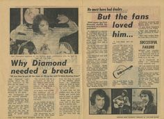 Neil Diamond in Australia - Booklet produced for his 1976 concert tour - Page 6 of 8
