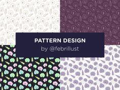 Pretty Patterns, Pattern Design, Eyeshadow, Behance, Digital, Gallery, Paper, Check, Illustration
