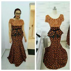 These Ankara styles will wow you! You will do a stand-up job by proving that a peplum doesn't need to be on a dress for max impact. A peplum creates…