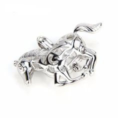 Genuine 925 Sterling Silver Galloping horse Pendant