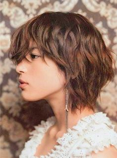 95 Amazing Short Shag Hairstyles, Hairstyles Hairstyles for Short Layered Hair Alluring Shaggy Hairstyles 2019 Great Short Shag Haircuts and Medium, Short Shag Hairstyles Lovely Beautiful Short Layered, Can T Miss Shag Haircuts From Short to Long. Cute Messy Hairstyles, Shaggy Bob Hairstyles, Shaggy Short Hair, Short Shag Hairstyles, Haircuts For Wavy Hair, Short Layered Haircuts, Layered Hairstyles, Braided Hairstyles, Girl Haircuts