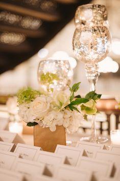 <p>Mercury Glass Candlesticks Wedding Decor</p>