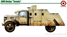Automitrailleuse Levante Dodge - French Army Siria, pin by Paolo Marzioli Military Art, Military History, Armored Vehicles, Armored Car, Engin, Tank Design, French Army, Military Equipment, World War Two