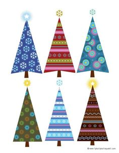 Great Christmas preschool printables! Tons of links and ideas