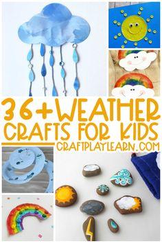 Rainy Day Activities For Kids, Rainy Day Crafts, Summer Crafts For Kids, Easy Crafts For Kids, Toddler Crafts, Preschool Crafts, Simple Crafts, Kid Activities, Weather Activities
